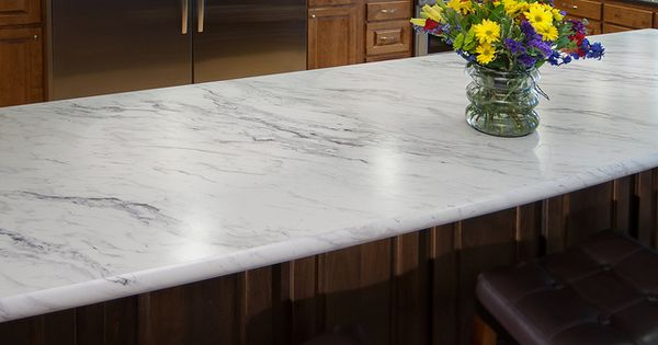 Wilsonart Premium Laminate Calcutta Marble 4925