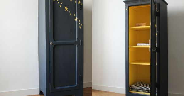 petite armoire penderie vintage trendy little 4 chambres. Black Bedroom Furniture Sets. Home Design Ideas