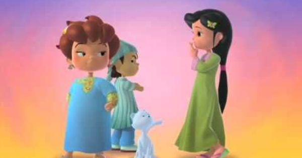 فيديو كليب شلة دانة معنى الصداقة Friendship Song Disney Characters Disney Princess Character