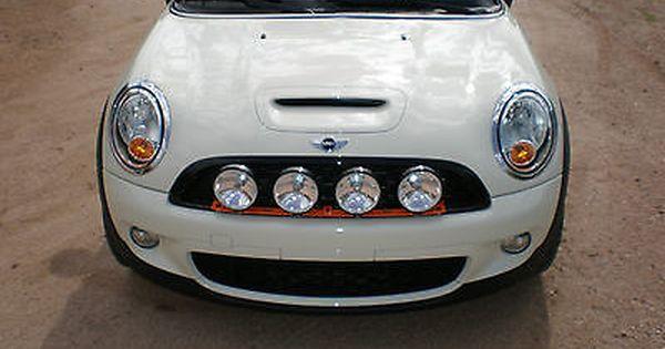 Vip R55 R56 R57 R58 R59 Quad Rally Driving Light Bracket Kit For Mini Coopers Mini Cooper Mini Cooper R56 Mini
