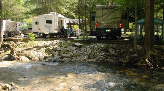 Rv Campgrounds Campsites In Nc By Mountain Stream Rv Park Rv Campgrounds Rv Parks And Campgrounds Camping Destinations