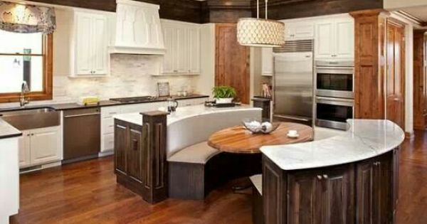 Dining Booth Kitchen Island Combo Home Sweet Home