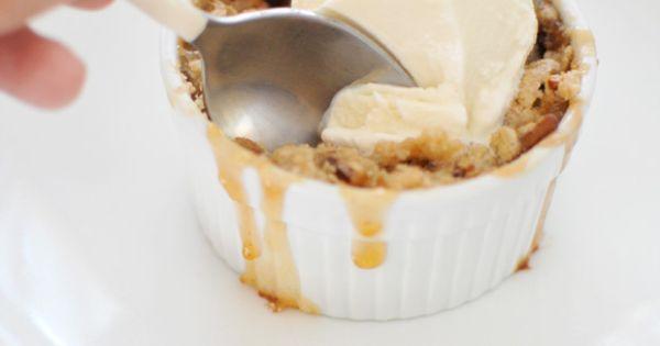 Apple Crisp with Pecan + Oat Topping (gluten-free) | Eat / Drink ...