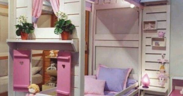 Little girl 39 s bed awesome la habitaci n de las ni as for Decoracion hogar queretaro