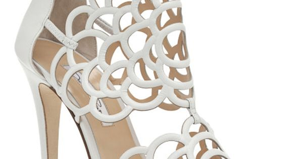 White Gladia Bootie by Oscar de la Renta Now Available on Moda