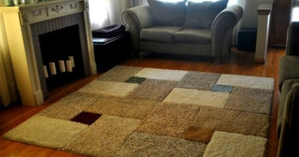 Carpet Remnants Amp Or Area Rugs Pieced Together To Make A
