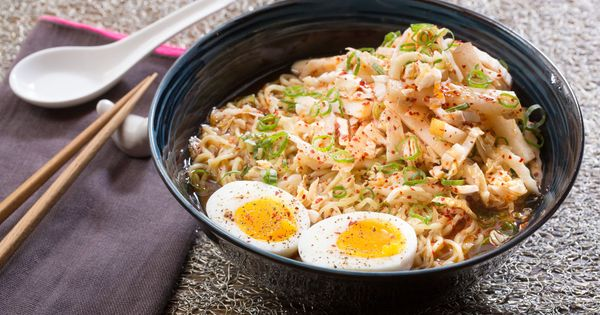 authentic ramen miso recipe Miso Boiled Ramen with Asian    Eggs Ramen Kimchi, &  Soft Recipe Pear