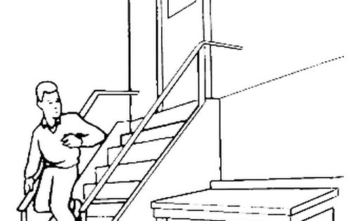 Safety Pin Page Coloring Pages