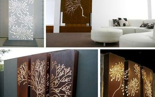 Design quest post backlit wall art design for What kind of paint to use on kitchen cabinets for jeweled metal wall art