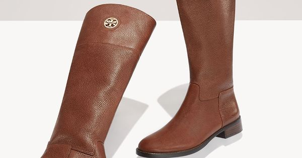 The Tory Burch Junction Boot: Looks great with bare legs now, tights
