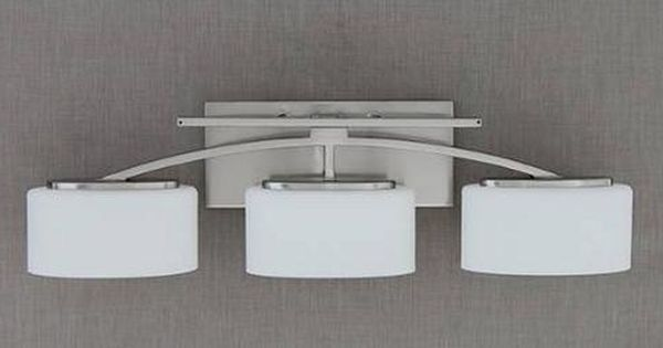 Bathroom Vanity Lights At Menards : Santa Monica Collection 3-Light 25.5