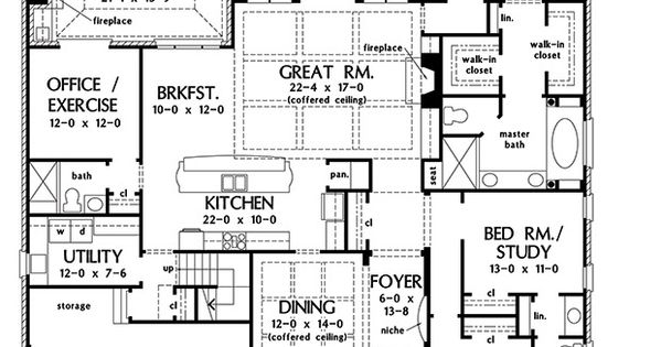 Plan Of The Week Over 2500 Sq Ft The Eliana 1362 2742
