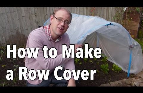 How To Make A Row Cover Tunnel Hoop House With Strong Winds Heavy Rainfall And Snow Winter