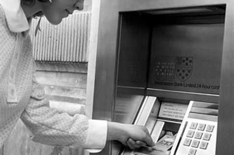 On September 2, 1969, the first automatic teller machine to use magnetic-striped