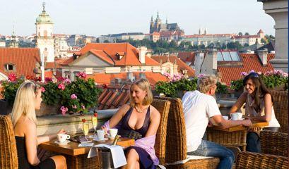 Prague S Top Restaurants With A View Prague Restaurants Prague Prague Travel