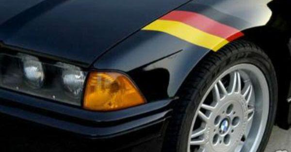 Vw Rabbit Decal German Flag Decal Flag Decal Volkswagen German Flag