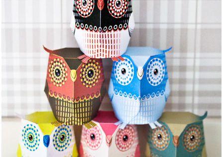 Paper Crafting Tutorials | Paper Owl - Free Crafts, Handmade Gift Ideas,