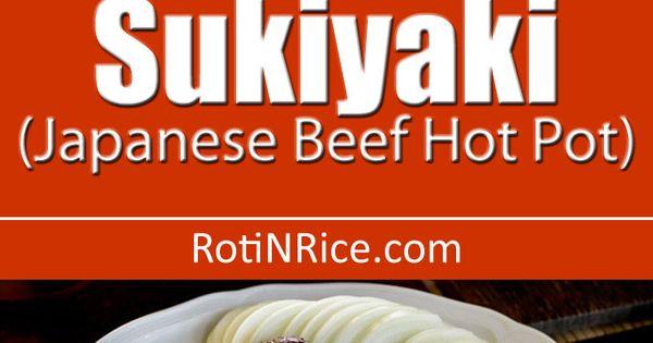 Sukiyaki (Japanese Beef Hot Pot) | 요리법 | 일식 및 음식