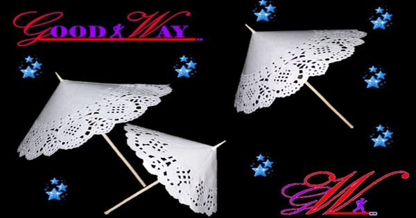 طريقة عمل مظلة بالورق الدانتيل How To Make An Amazing Umbrella Hand Art Crafts Diy And Crafts