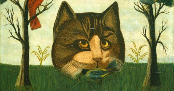 Artist Unknown The Cat Probably Second Half 19th Century