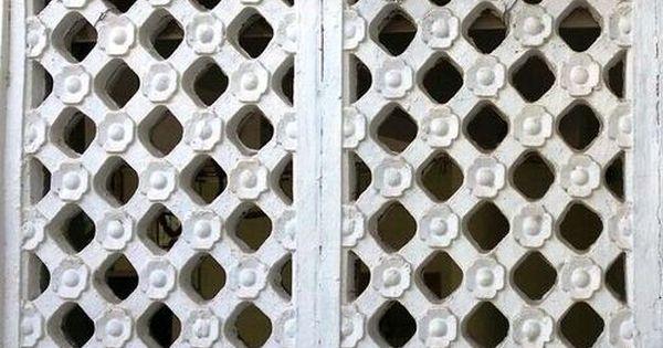 Cement Ventilation Jali Ventilation Wood Screens Vadodara