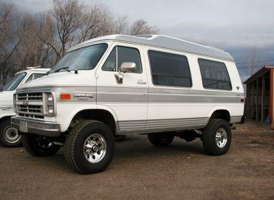 4x4 Chevy G Series Van Chevy Van 4x4 Van Lifted Van