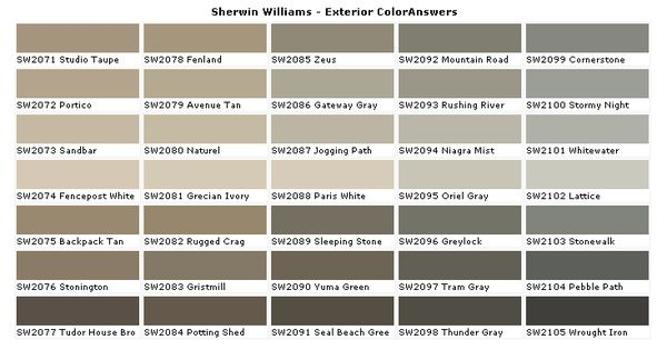 Colors Sherwin Williams Paint Coloranswers House Paints Colors 2017 2018 Best Cars Reviews