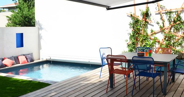 by slowgarden inspiration deco outdoor une mini piscine pour ma terrasse small pool. Black Bedroom Furniture Sets. Home Design Ideas