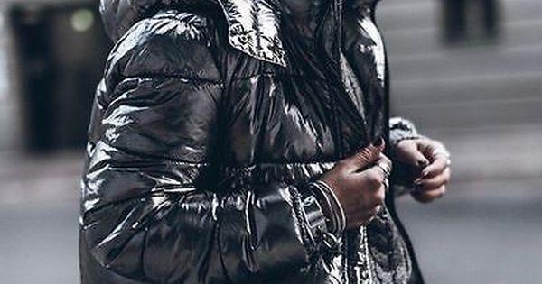 Zara Metallic Quilted Puffet Jacket Anorak Dark Silver Size Xs Ref 3427 231 Jackets Silver Puffer Jacket Fashion
