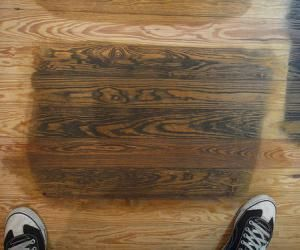 Remove Water Stains From Unfinished Woods Remove Stains Remove Water Stains Cleaning Wood Floors Wood Repair
