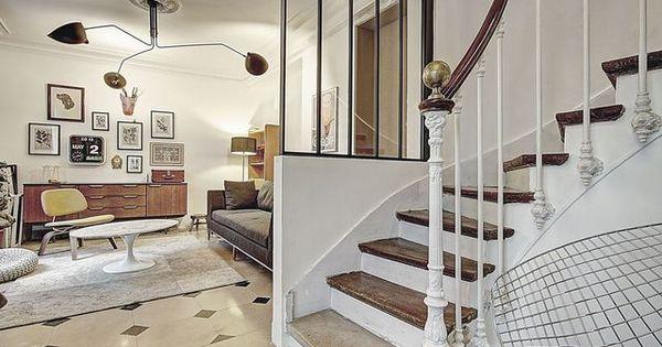 Une verri re d 39 int rieur qui ouvre l 39 escalier sur la pi ce for Inspiration deco interieur