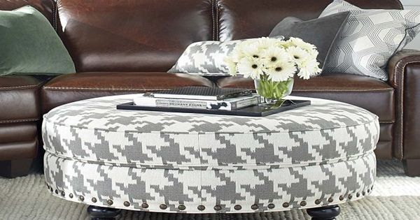 Your Own Tufted Fabric Ottoman Coffee Table Banaboogie Com Beach House Pinterest Smooth