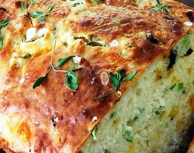 Cheese, Olive and Buttermilk Herb Bread i am going to try it