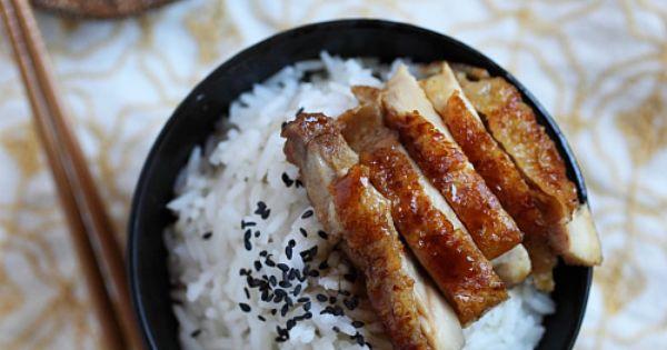 teriyaki! yumm asian food is the bomb