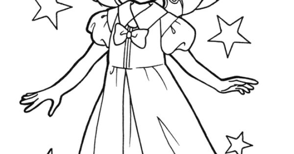 ChibiUsa Coloring Page // #sailormoon