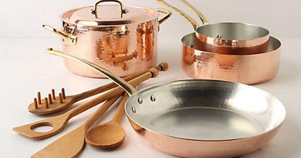 ruffoni copper cookware set kupfer besteck und geschirr. Black Bedroom Furniture Sets. Home Design Ideas