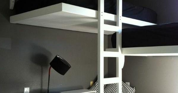 Lit mezzanine une pi ce suppl mentaire cosy et intimiste chambre moderne - Creer une piece supplementaire ...