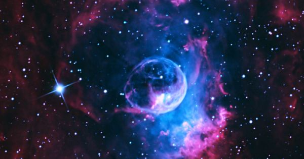 Bubble Nebula (via WeAreAllStarstuff.tumblr)
