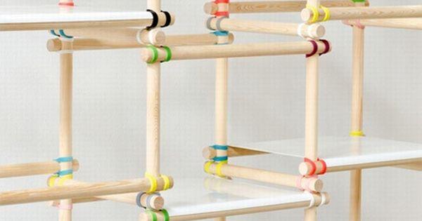 Simple Commodity Shelf Design Furniture Design Details