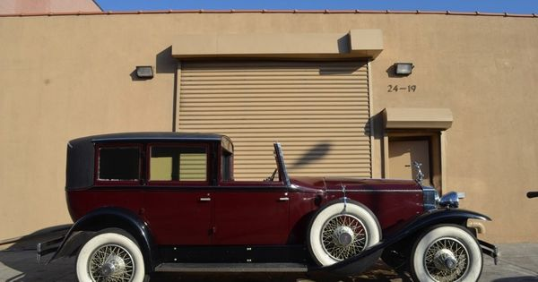1929 RollsRoyce Phantom I Springfield   Rolls Royce USA