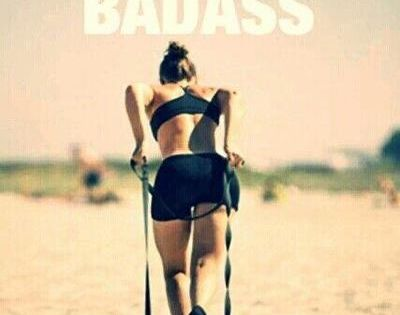 forget skinny I'm training to become a fit badass!!