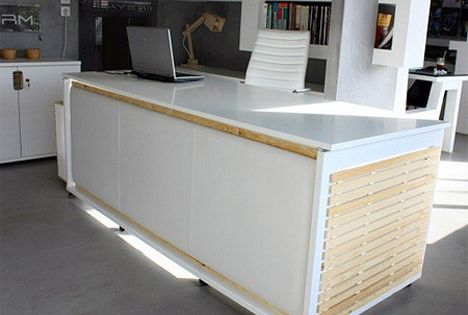 Sluggish After Lunch Take A Nap In This Transforming Desk Bed Desk Home Office Design Perfect Desk