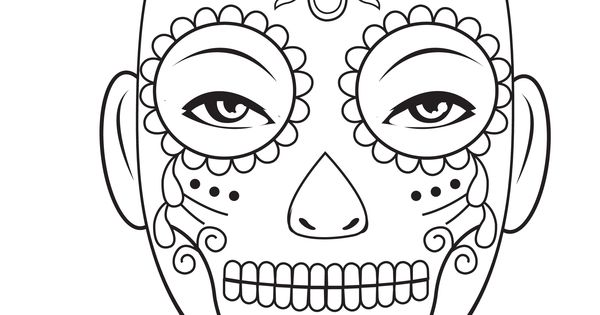 Sugar skull DiadelosMuertos pattern MichaelsStores