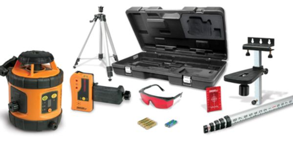 Johnson Level 40 6517 Self Leveling Rotary Laser System Laser Levels Septic System Installation Rotary