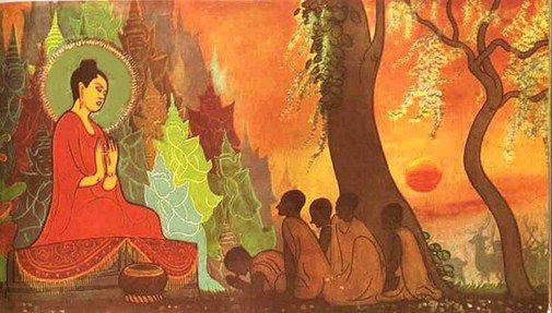 Fire Sermon of the Buddha – Gnostic Muse | History of buddhism, Buddha art,  Buddhism art