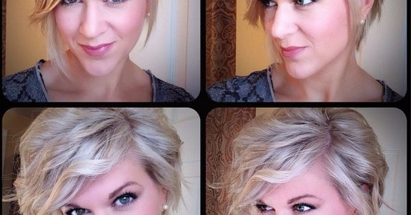 Life Songs Of A Busy Mom: My Winter 2014-15 Asymmetrical Bob; Curly