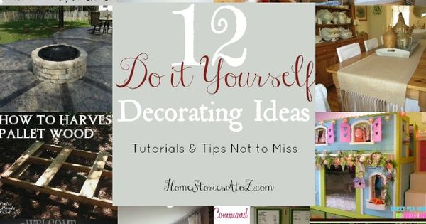 12 Do it Yourself Decorating Tips bedroom decor Bed Room bedroom design|