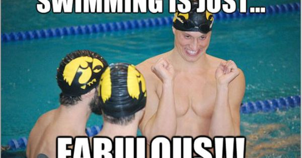 Please note - Iowa Hawkeyes swimteam