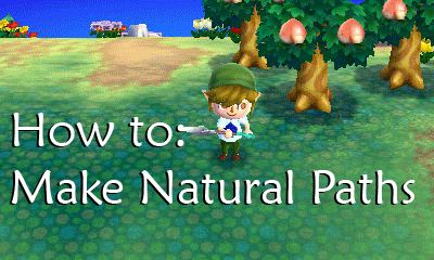 How To Make Pillows In Animal Crossing New Leaf : karstencrossing: How to make Natural Paths. Animal Crossing New Leaf Pinterest Animal ...