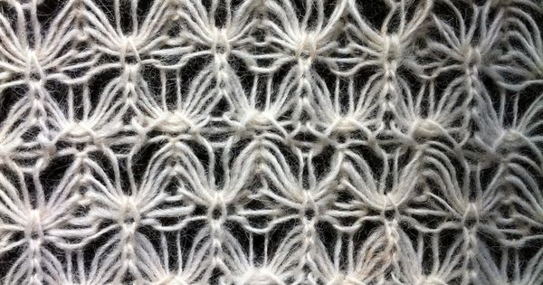 This is a close up of the stitch. Knitting Iceland wants to find the name of ...